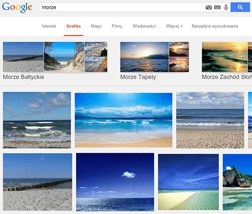 Wyszukiwarka grafiki Google i jej możliwości