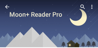 Moon+ Reader Pro promocja i nowy wygląd zgodny z Material design Android Lollipop
