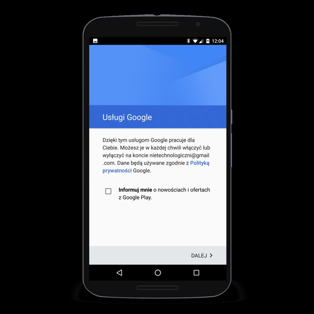 Informowanie o nowościach i ofertach w Google Play